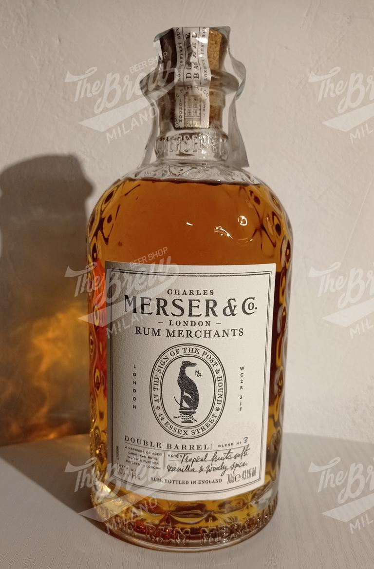 MERSER DOUBLE BARREL RUM